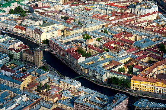 Saint Petersburg, Russia from above, photo 24