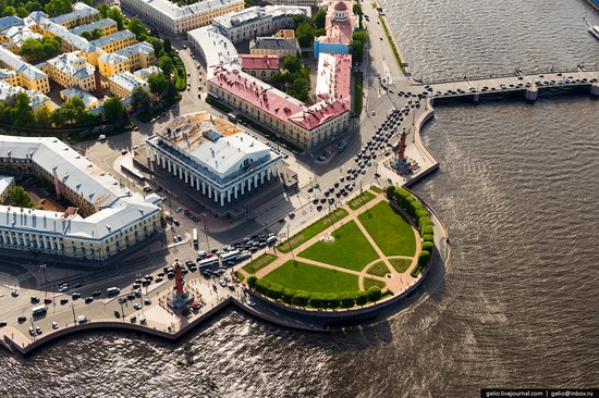 Saint Petersburg, Russia from above, photo 25