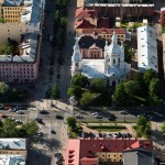 St. Petersburg from above. Part 2