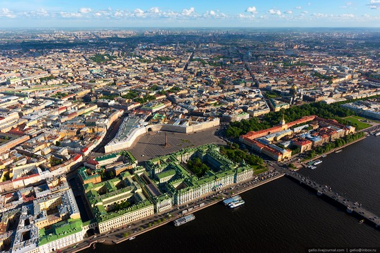 Saint Petersburg, Russia from above, photo 3