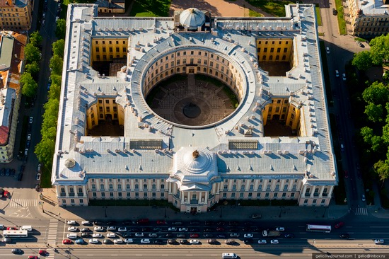 Saint Petersburg, Russia from above, photo 30