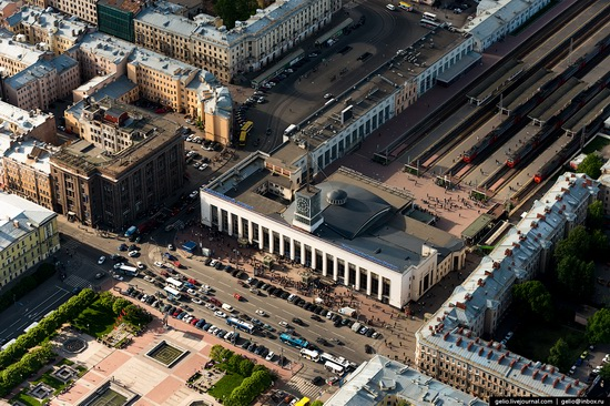 Saint Petersburg, Russia from above, photo 33