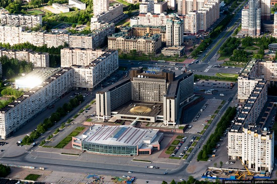 Saint Petersburg, Russia from above, photo 37
