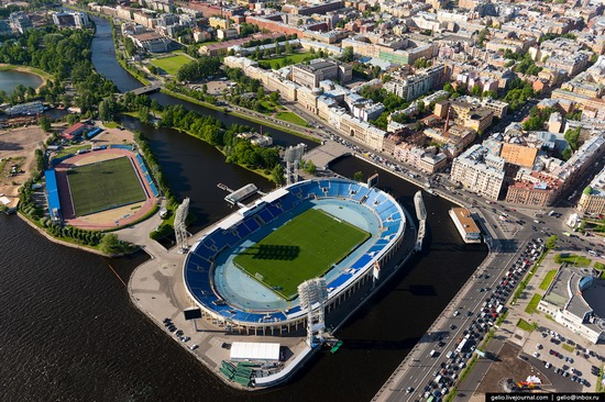 Saint Petersburg, Russia from above, photo 39