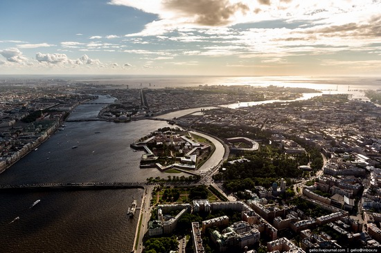 Saint Petersburg, Russia from above, photo 4