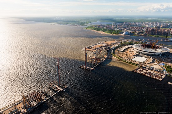 Saint Petersburg, Russia from above, photo 44