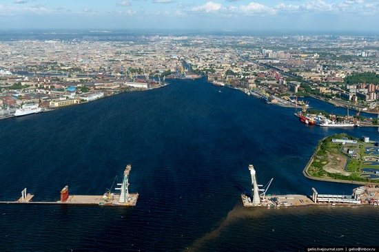 Saint Petersburg, Russia from above, photo 45