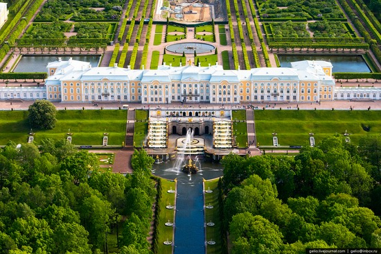 Saint Petersburg, Russia from above, photo 47