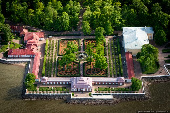 Saint Petersburg, Russia from above, photo 48