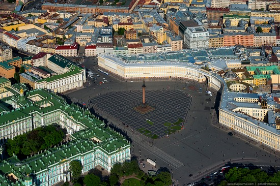 Saint Petersburg, Russia from above, photo 5