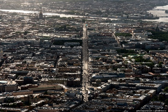 Saint Petersburg, Russia from above, photo 53