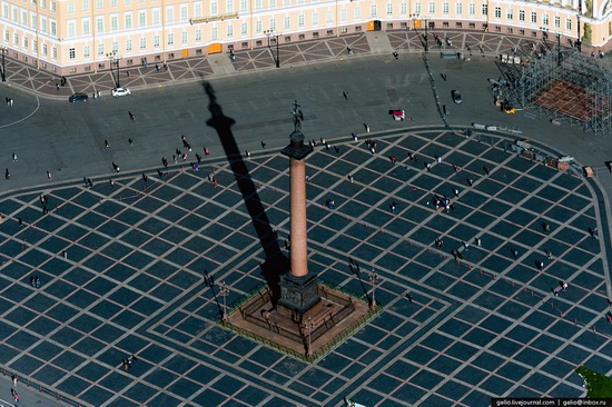 Saint Petersburg, Russia from above, photo 6