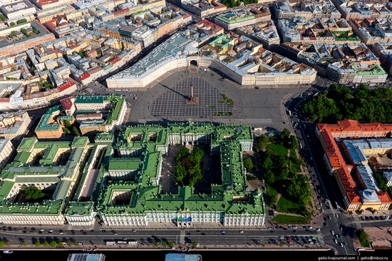 Saint Petersburg, Russia from above, photo 7