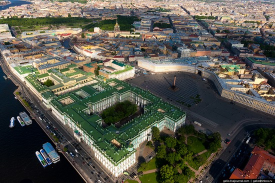 Saint Petersburg, Russia from above, photo 8