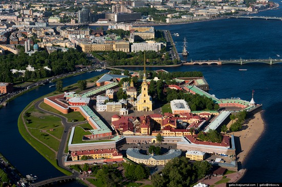Saint Petersburg, Russia from above, photo 9