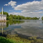 A walk along the shores of the Great Pond in Tsarskoye Selo