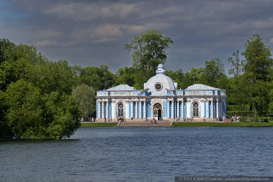 The Great Pond, Tsarskoye Selo, Russia, photo 12