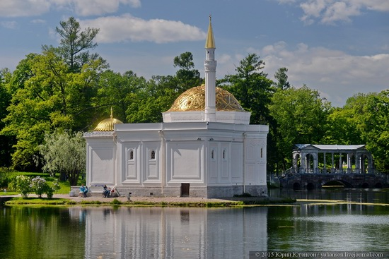 The Great Pond, Tsarskoye Selo, Russia, photo 2