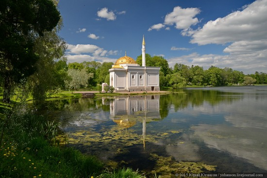 The Great Pond, Tsarskoye Selo, Russia, photo 3