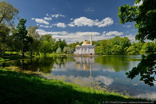 The Great Pond, Tsarskoye Selo, Russia, photo 4