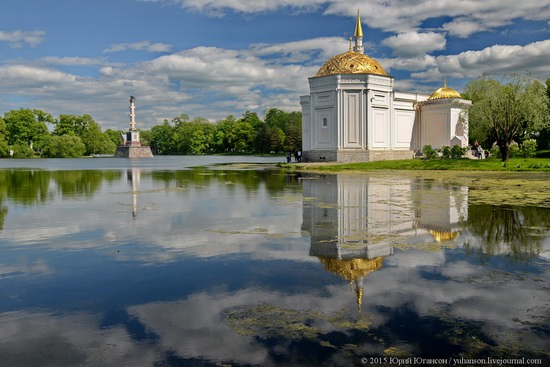 The Great Pond, Tsarskoye Selo, Russia, photo 5