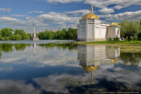 The Great Pond, Tsarskoye Selo, Russia, photo 5