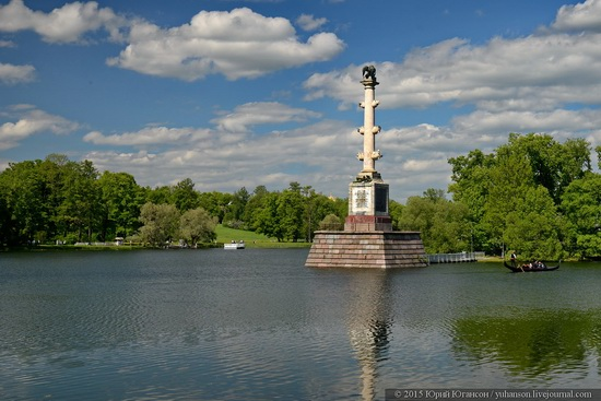 The Great Pond, Tsarskoye Selo, Russia, photo 7