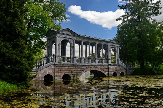 The Great Pond, Tsarskoye Selo, Russia, photo 9
