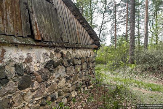 Abandoned manor of the architect Khrenov in Zaklyuchye, Tver region, Russia, photo 10