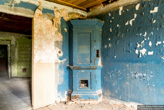 Abandoned manor of the architect Khrenov in Zaklyuchye, Tver region, Russia, photo 14