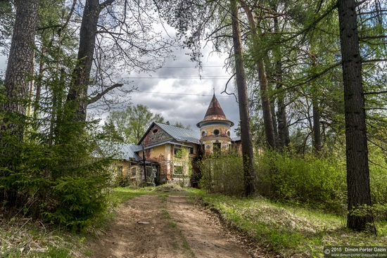 Abandoned manor of the architect Khrenov in Zaklyuchye, Tver region, Russia, photo 18