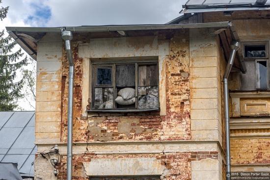 Abandoned manor of the architect Khrenov in Zaklyuchye, Tver region, Russia, photo 6