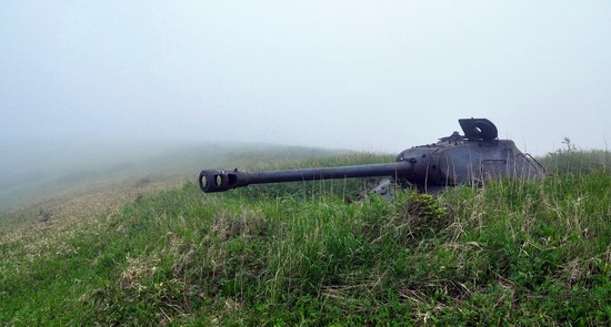 Abandoned tanks, Shikotan Island, Sakhalin region, Russia, photo 19