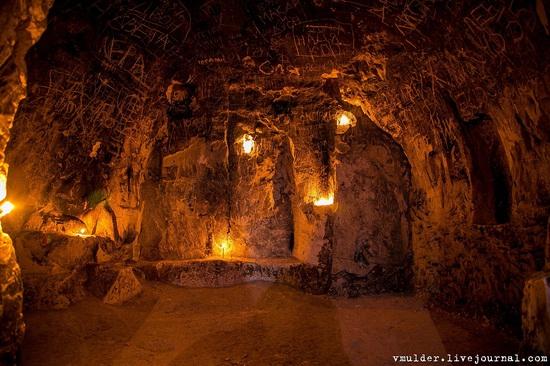 Kalacheevskaya Cave, Kalach town, Voronezh region, Russia, photo 1