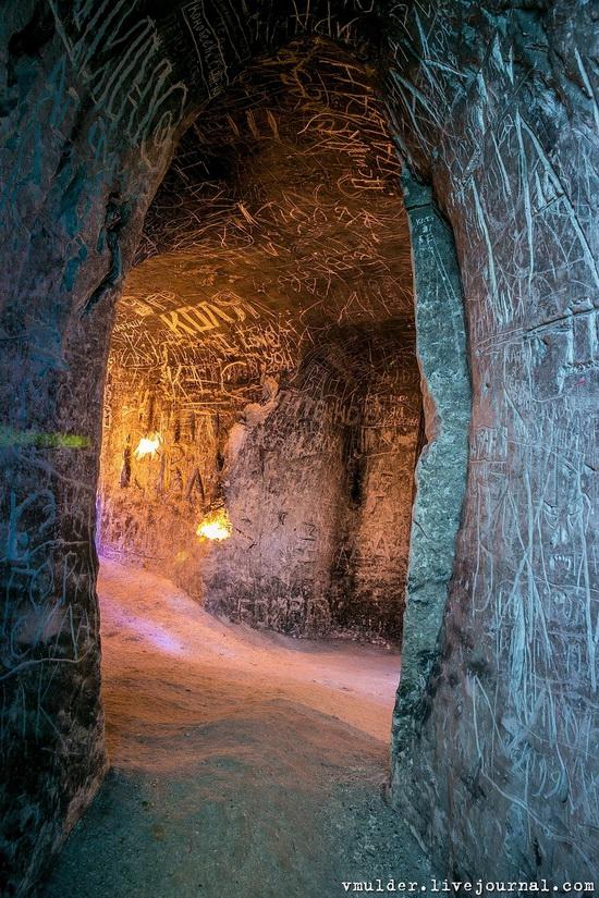 Kalacheevskaya Cave, Kalach town, Voronezh region, Russia, photo 12