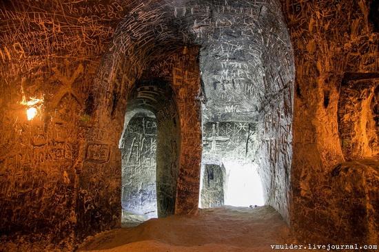 Kalacheevskaya Cave, Kalach town, Voronezh region, Russia, photo 13