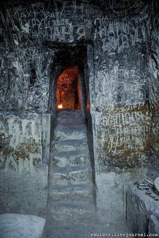 Kalacheevskaya Cave, Kalach town, Voronezh region, Russia, photo 14