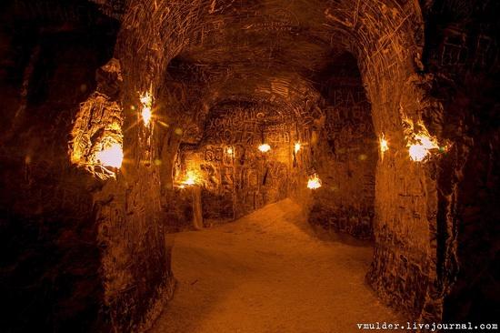 Kalacheevskaya Cave, Kalach town, Voronezh region, Russia, photo 17