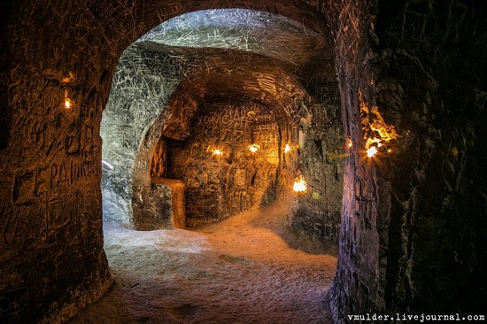 Kalacheevskaya Cave, Kalach town, Voronezh region, Russia, photo 18