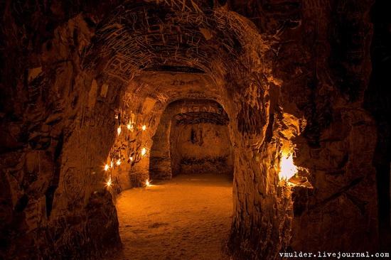 Kalacheevskaya Cave, Kalach town, Voronezh region, Russia, photo 6