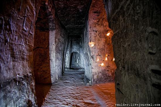 Kalacheevskaya Cave, Kalach town, Voronezh region, Russia, photo 7