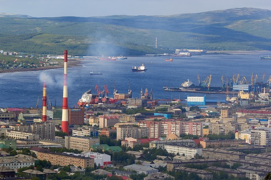 Murmansk - the views from the heights, Russia, photo 1