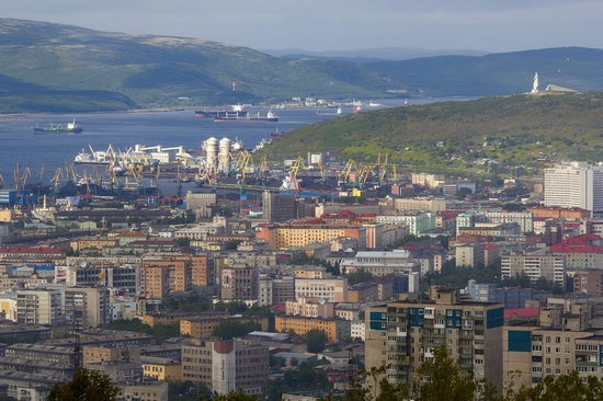 Murmansk - the views from the heights, Russia, photo 10