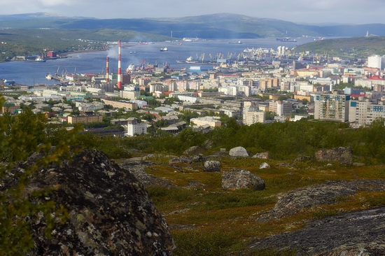 Murmansk - the views from the heights, Russia, photo 11