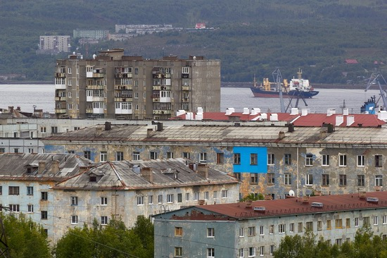 Murmansk - the views from the heights, Russia, photo 16