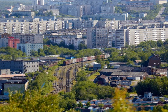 Murmansk - the views from the heights, Russia, photo 17