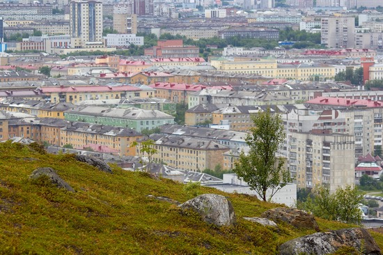 Murmansk - the views from the heights, Russia, photo 2