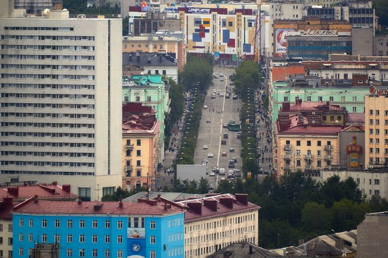 Murmansk - the views from the heights, Russia, photo 3