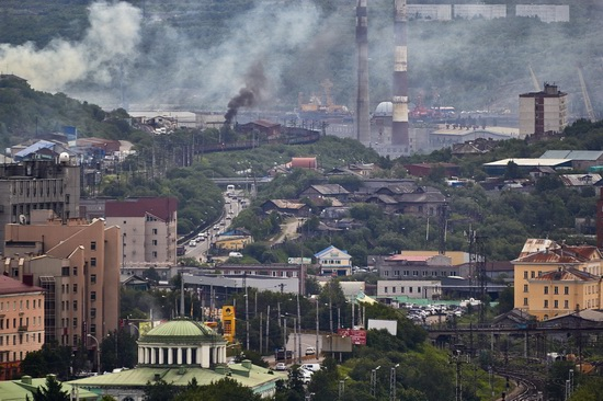 Murmansk - the views from the heights, Russia, photo 6