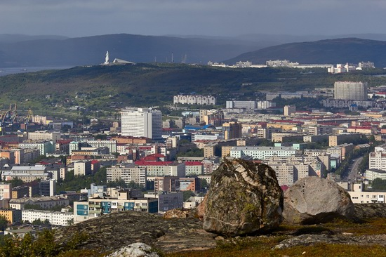 Murmansk - the views from the heights, Russia, photo 7